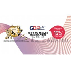 JOMSHIP with GDEX with Discount up to 15%